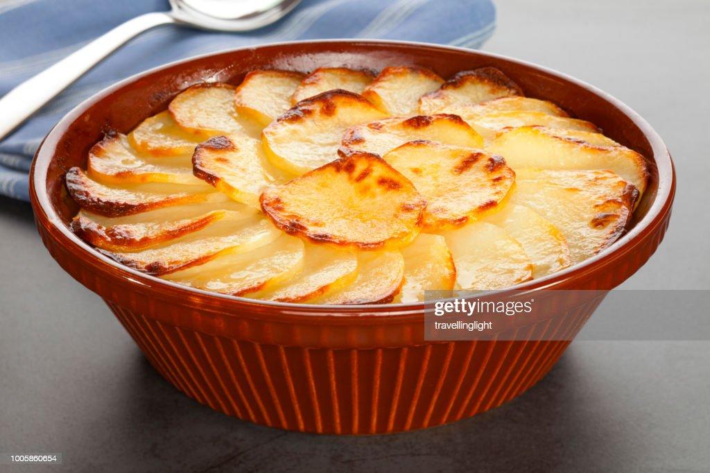Boulangere or Scalloped Potatoes : Stock Photo