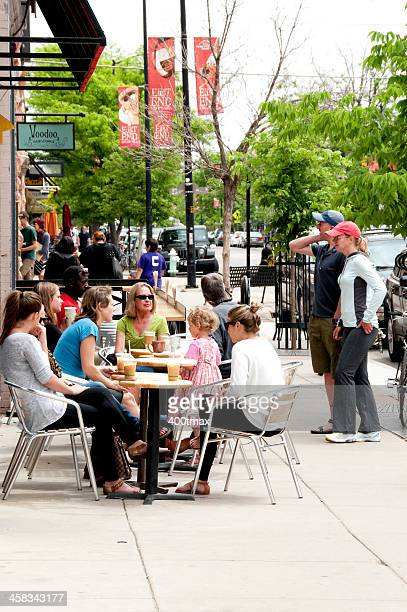 boulder breakfast - boulder county stock pictures, royalty-free photos & images