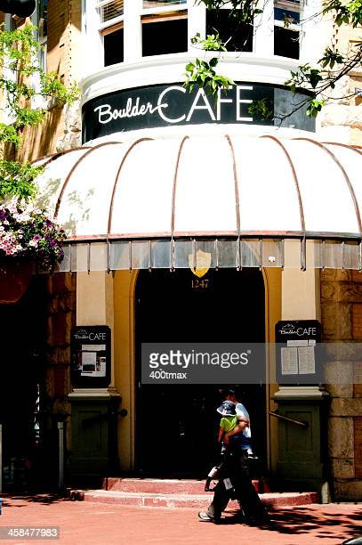 boulder cafe - boulder county stock pictures, royalty-free photos & images