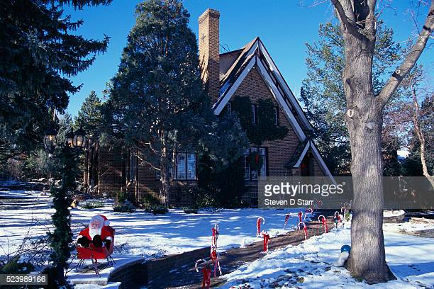 Exterior of the Ramsey home where 6 year old JonBenet Ramsey was found strangled in the basement