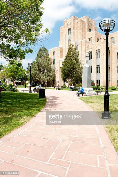 boulder courthouse - boulder county stock pictures, royalty-free photos & images