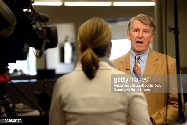 Boulder Daily Camera Reporter Charlie Brennan speaks to Fox 31's Alicia Acuna regarding the Friday release of the JonBenet Ramsey Grand Jury...