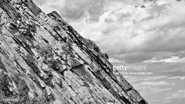 boulder flatiron - sursly stock pictures, royalty-free photos & images