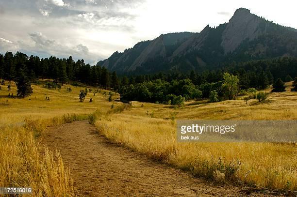 Boulder Flatirons Hiking Trail