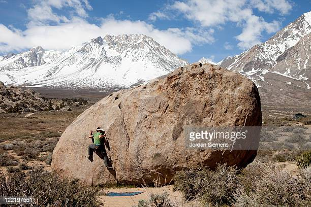Bouldering in the Buttermilks