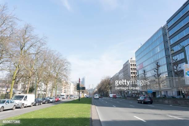 Boulevard du Regent in Brussels