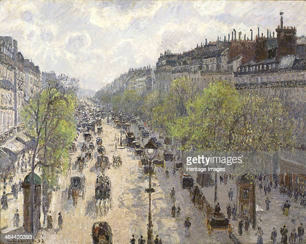 Boulevard Montmartre, Spring, 1897. Found in the collection of the Israel Museum, Jerusalem.