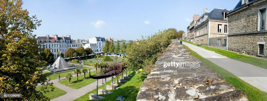 Boulogne-sur-Mer, Square Auguste-Mariette-Pacha. : News Photo