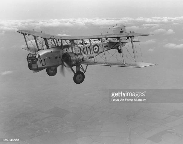 Boulton Paul Overstrand of 101 Squadron in flight Bicester 1938