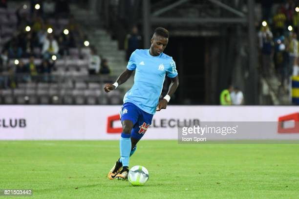Bouna Sarr during the friendly match between Olympique de Marseille and Fenerbahce on July 15 2017 in Lausanne Switzerland