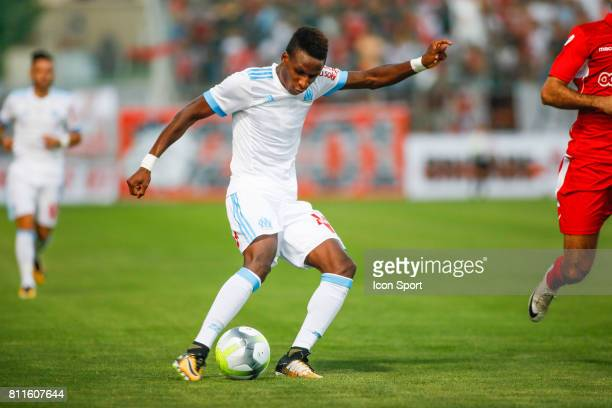 Bouna Sarr of Marseille during the friendly match between Olympique de Marseille and Etoile Sportive du Sahel on July 9 2017 in Martigues France