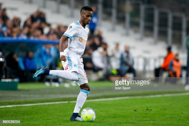 Bouna Sarr of Marseille during the Ligue 1 match between Olympique Marseille and AS SaintEtienne at Stade Velodrome on December 10 2017 in Marseille