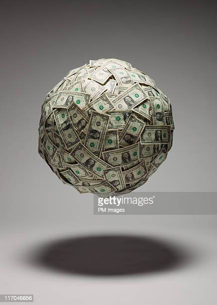 Bouncing ball of money