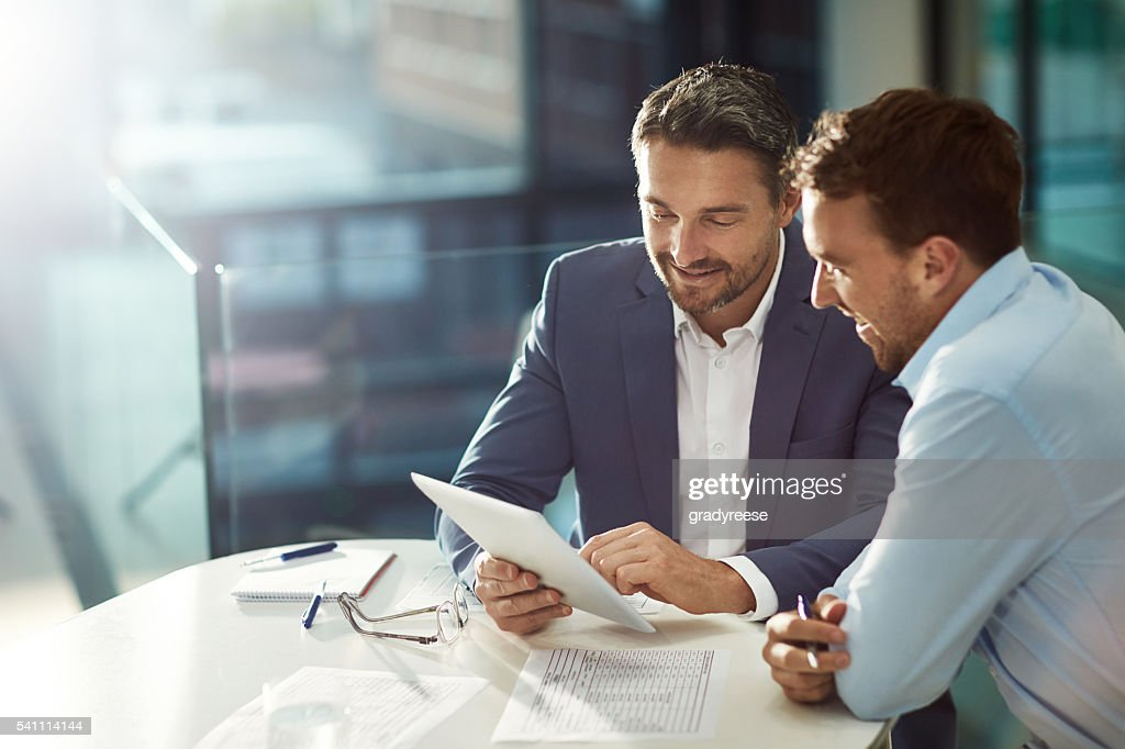 Bound by business : Stock Photo
