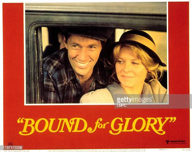 Bound For Glory lobbycard David Carradine Melinda Dillon 1976