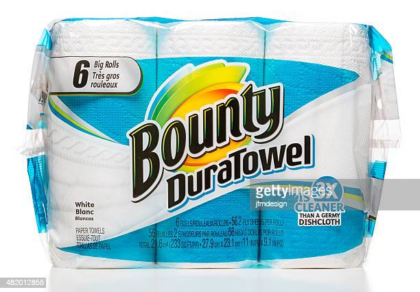 Bounty DuraTowel 6 big rolls package