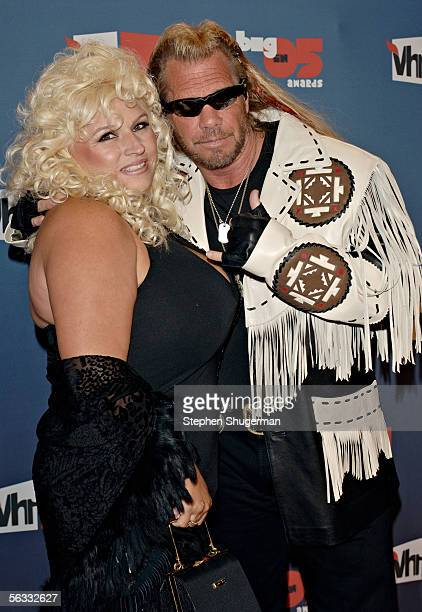 """Bounty Hunter Duane """"Dog"""" Chapman and Beth Chapman arrive at the VH1 Big In '05 Awards held at Stage 15 on the Sony lot on December 3, 2005 in Culver..."""