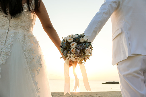 Bouquet at the beach 929904308