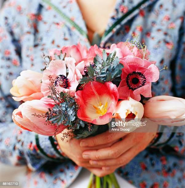 Bouquet in pink Sweden.