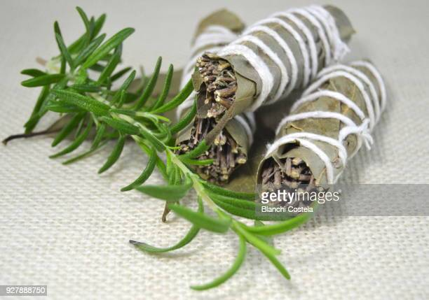 Bouquet of aromatic herbs for cooking