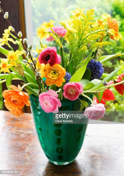 Bouquet Flowers Vases Stock Photos And Pictures Getty Images
