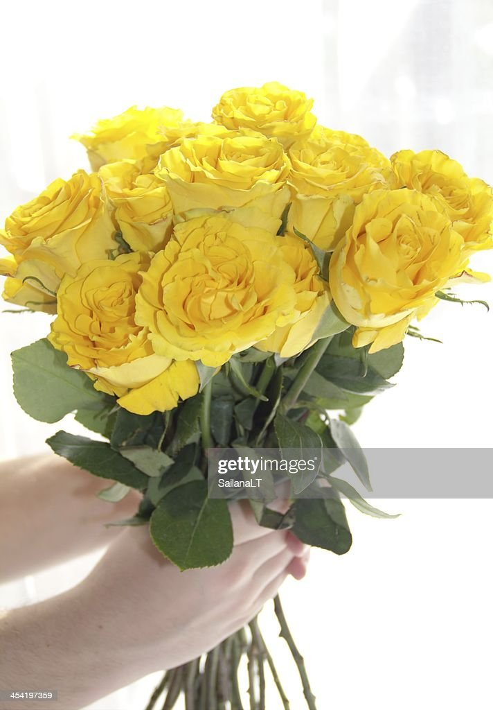 Bouquet of rose flowers : Stock Photo