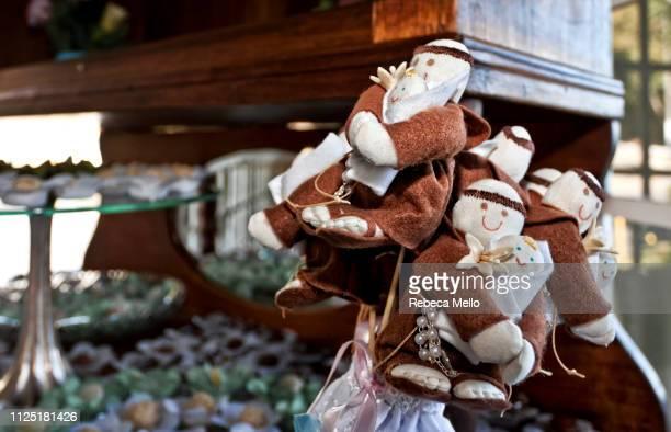 bouquet of saint anthony brings luck - candy dolls fotografías e imágenes de stock