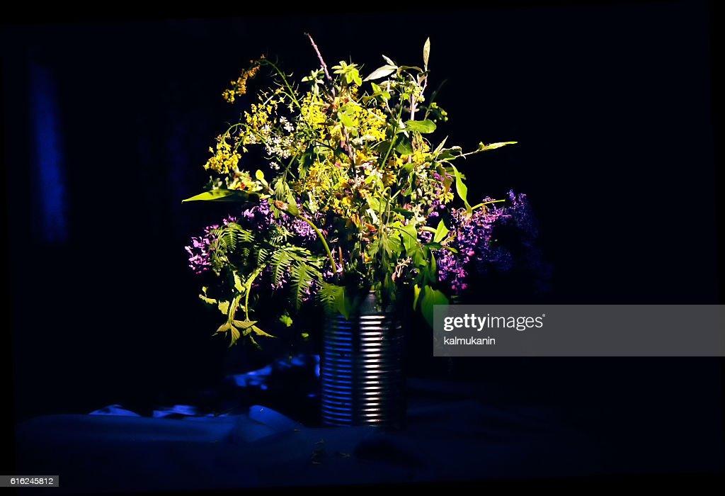 bouquet de flores silvestres : Foto de stock