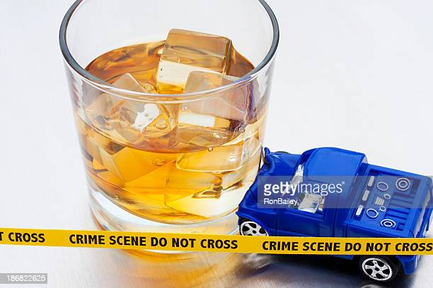 DUI - Bourbon Crash Crime Scene