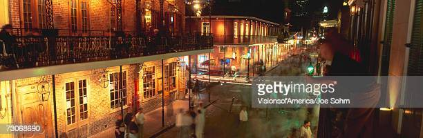 'Bourbon Street, French Quarter, New Orleans, Louisiana'