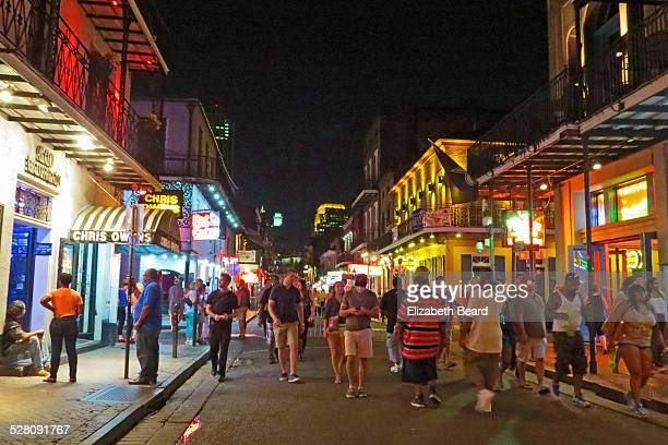 how to get to bourbon street in new orleans