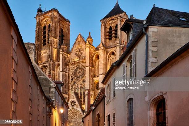 bourges cathedral, france - bourges stock pictures, royalty-free photos & images