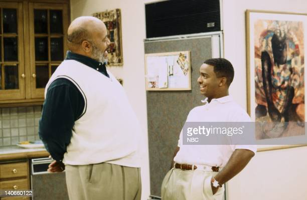 AIR Bourgie Sings the Blues Episode 4 Pictured James Avery as Philip Banks Alfonso Ribeiro as Carlton Bank Photo by Kassa Zakadi/NBCU Photo Bank