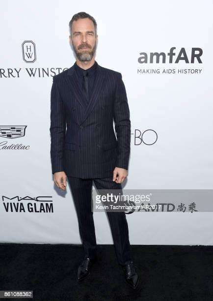 Bourne at amfAR Los Angeles 2017 at Ron Burkle's Green Acres Estate on October 13, 2017 in Beverly Hills, Californi