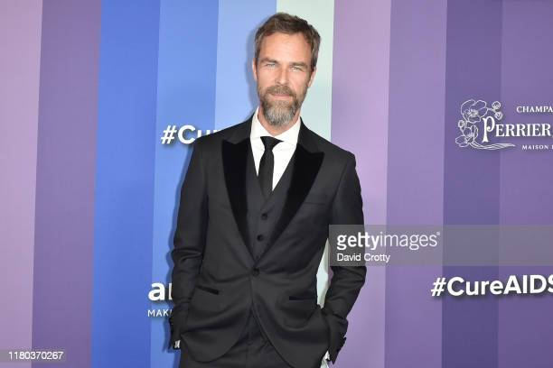 Bourne attends the 2019 amFAR Gala Los Angeles at Milk Studios on October 10, 2019 in Los Angeles, California.