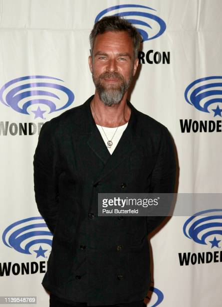 Bourne attends the 'The 100' press line during WonderCon 2019 at Anaheim Convention Center on March 31, 2019 in Anaheim, California.