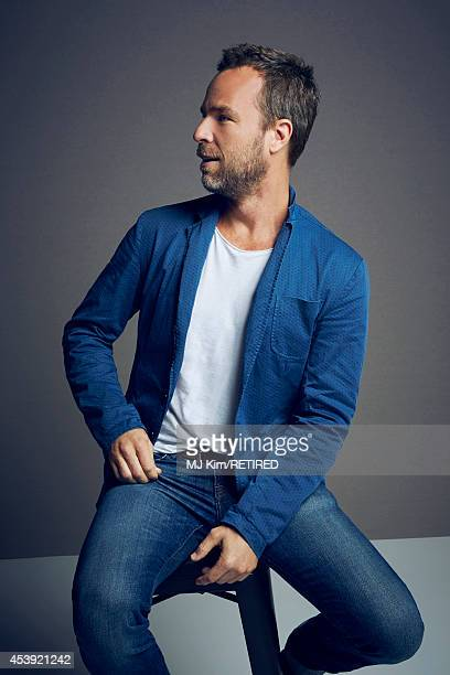 Bourne poses for a portrait at the Getty Images Portrait Studio powered by Samsung Galaxy at Comic-Con International 2014 on July 24, 2014 in San...
