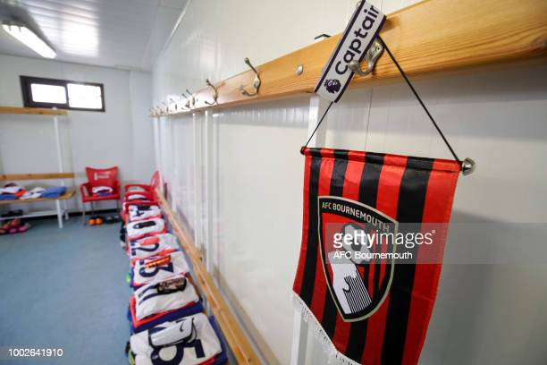 Bournemouth dressing room before the preseason friendly between AFC Bournemouth and Levante at the La Manga Club Football Centre on July 20 2018 in...