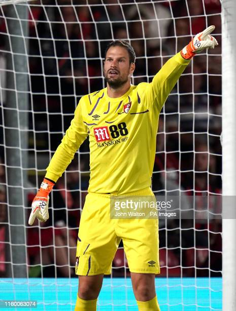 Bournemouth goalkeeper Mark Travers