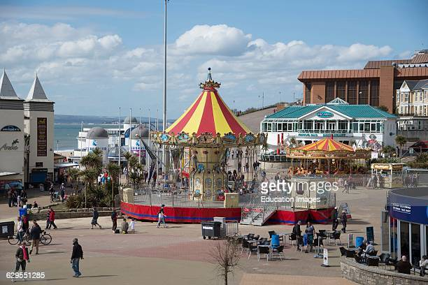 Bournemouth holiday activities on the seafront England UK