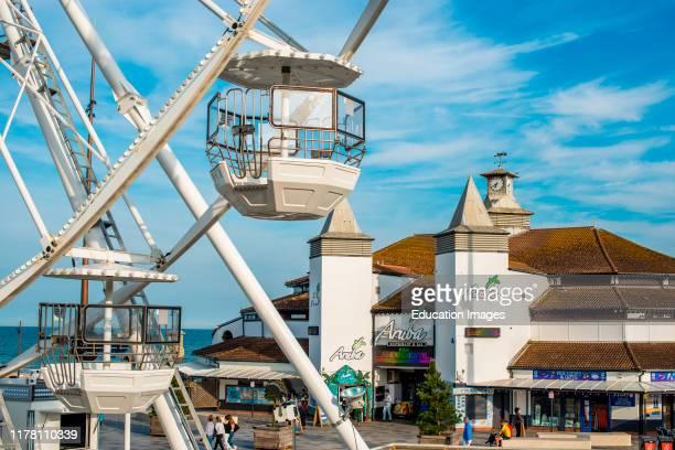 Bournemouth Pier and Big Wheel Dorset England UK