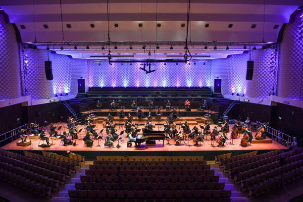 GBR: Bournemouth Symphony Orchestra Rehearse To Stream Live Performances Through Lockdown