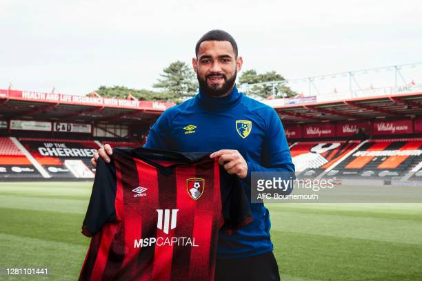 Bournemouth unveil new loan signing Cameron Carter-Vickers at Vitality Stadium on October 19, 2020 in Bournemouth, England.