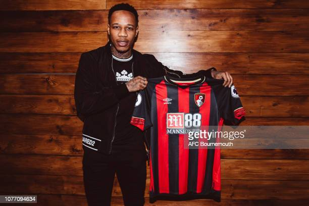 Bournemouth unveil new loan signing Nathaniel Clyne at Vitality Stadium on January 4 2019 in Bournemouth England