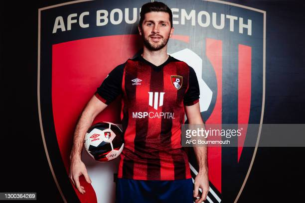 Bournemouth unveil new loan signing Shane Long at Vitality Stadium on February 04, 2021 in Bournemouth, England.