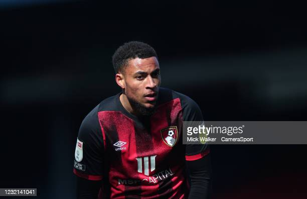 Bournemouth's Arnaut Danjuma during the Sky Bet Championship match between Blackburn Rovers and AFC Bournemouth at Ewood Park on April 5, 2021 in...