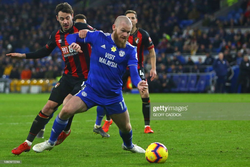 FBL-ENG-PR-CARDIFF-BOURNEMOUTH : News Photo