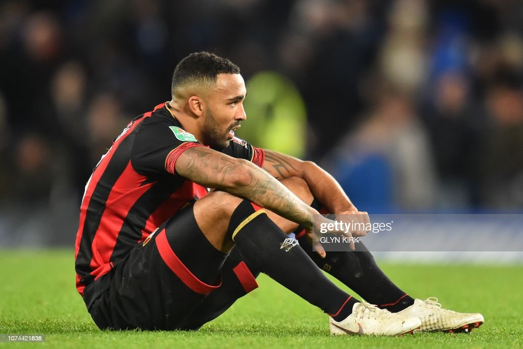FBL-ENG-LCUP-CHELSEA-BOURNEMOUTH : News Photo