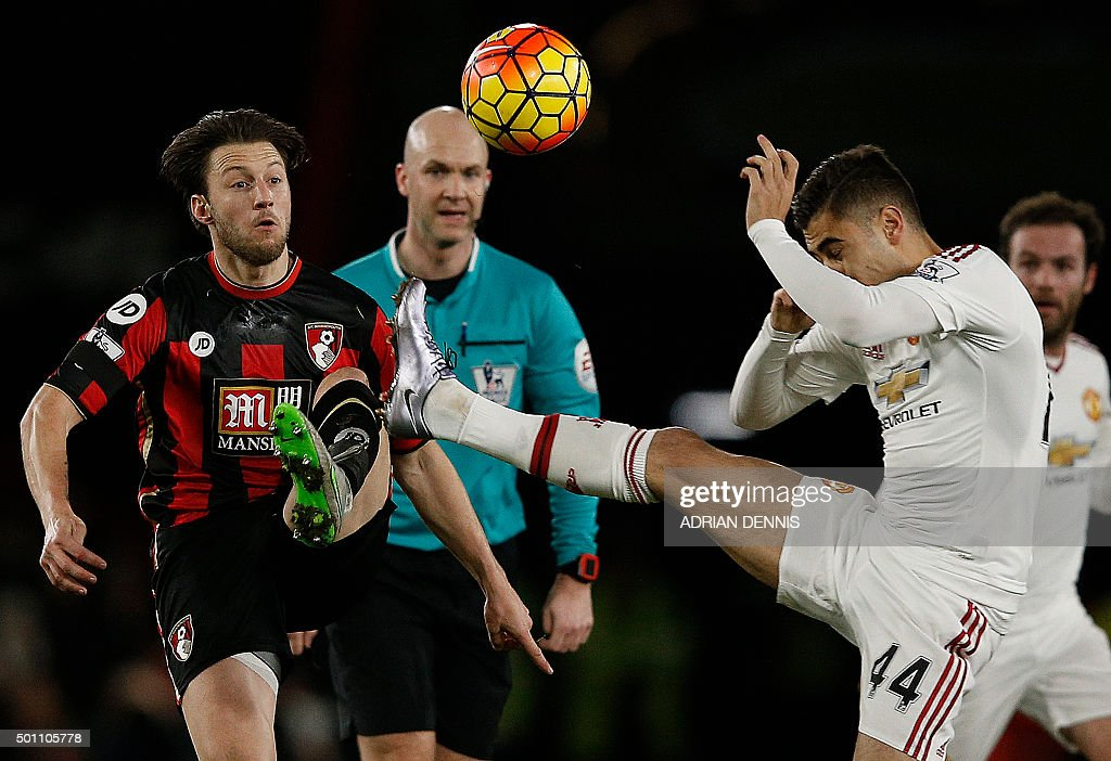 FBL-ENG-PR-BOURNEMOUTH-MAN UTD : News Photo