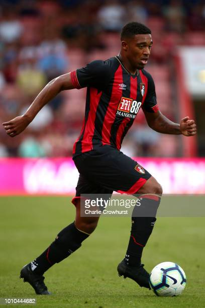 Bournemouth's Jordan Ibe in action during the PreSeason Friendly match between AFC Bournemouth and Real Betis at Vitality Stadium on August 3 2018 in...